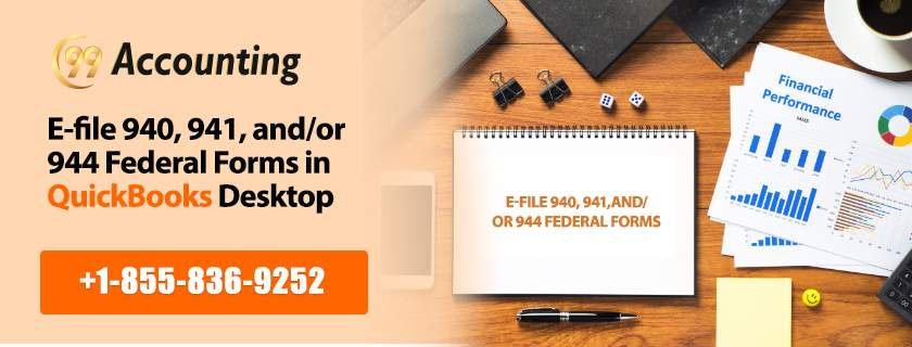Set Up Your Federal Forms 940 941 And 944 For E File In Quickbooks