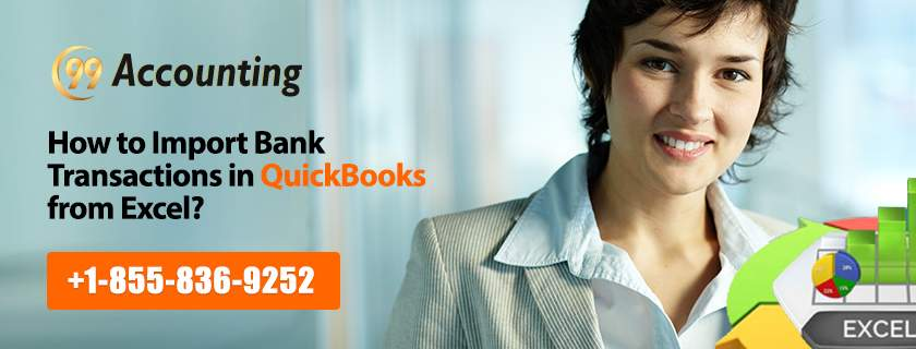 How to import bank transactions in QuickBooks from Excel?